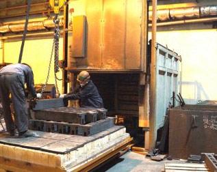 Услуги по термообработке металла (термообработка литья)